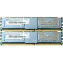 2GB ( 2X1GB) PC2-5300F ECC RAM